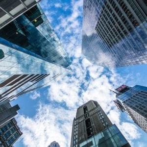 Top of buildings