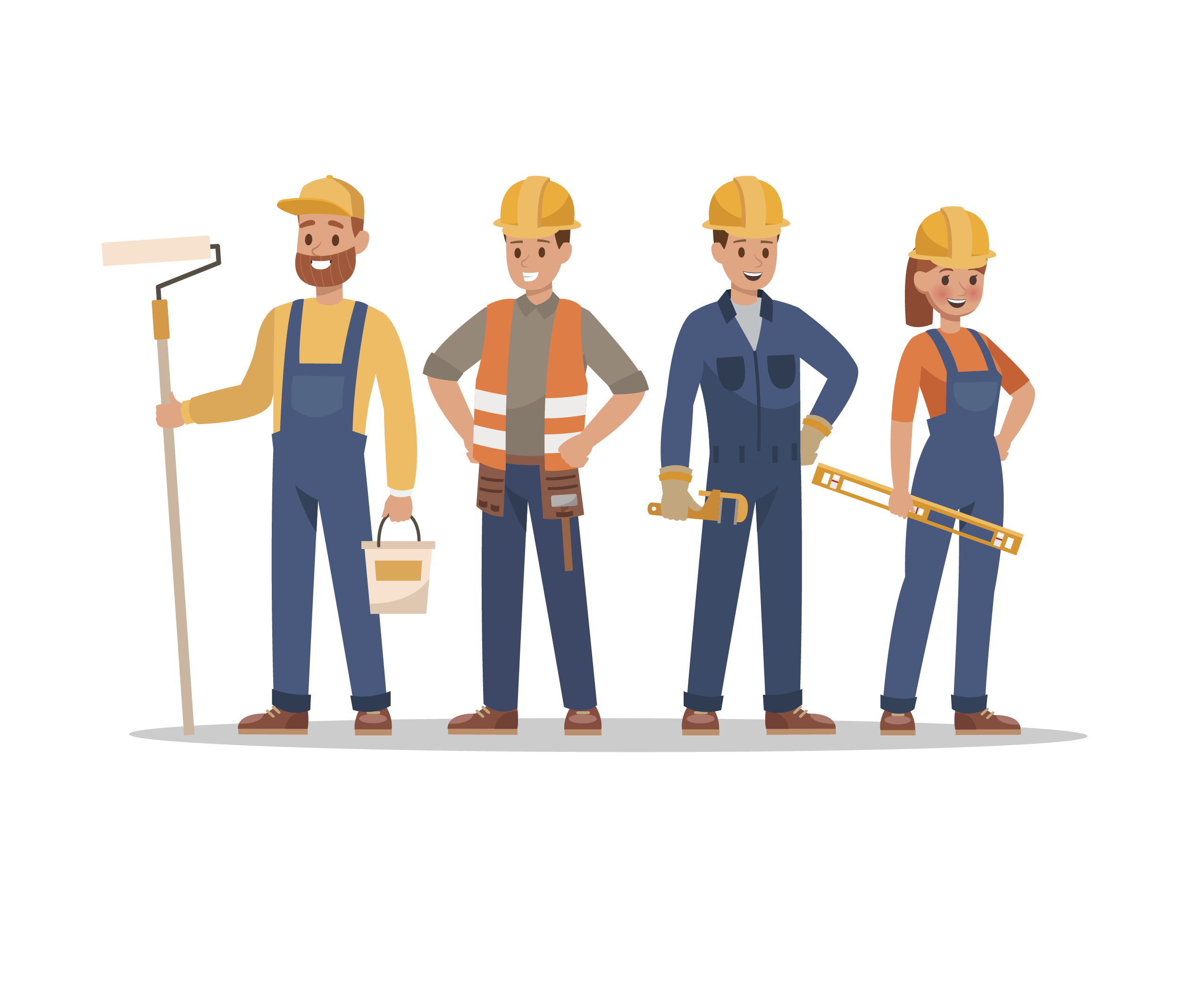 Contractors Illustration